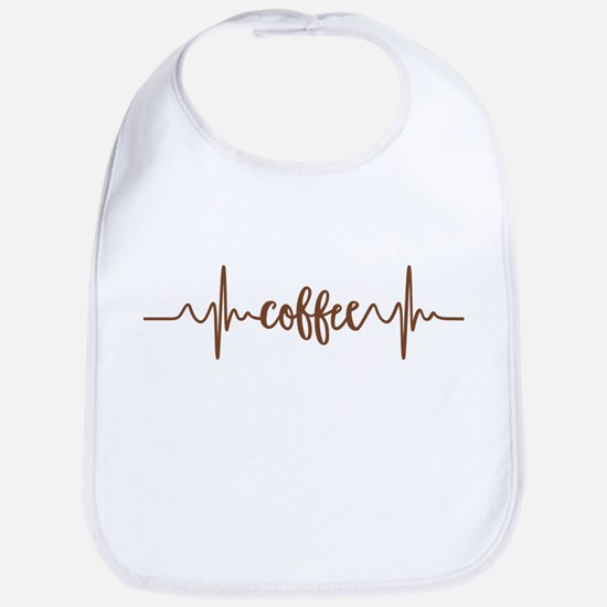 COFFEE HEARTBEAT Bib