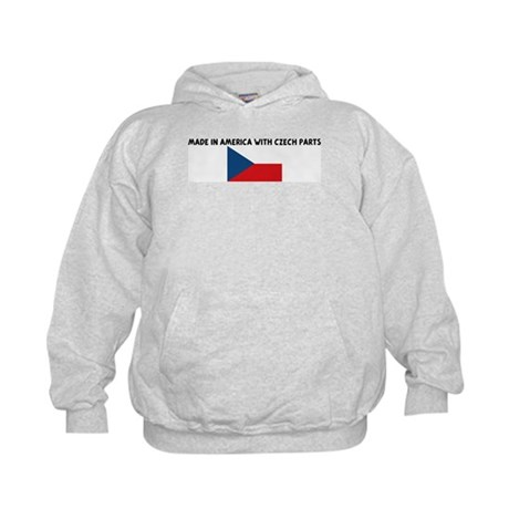 MADE IN AMERICA WITH CZECH PA Kids Hoodie