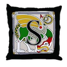 Celtic Dragon Art S Throw Pillow