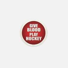 Hockey Mini Button