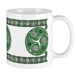 Green Celtic Spiral Mug II
