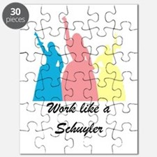 Work like a Schuyler Puzzle