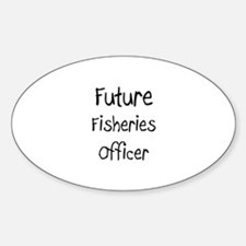 Future Fisheries Officer Oval Decal