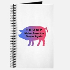 Trump--Make America Grope Again Journal