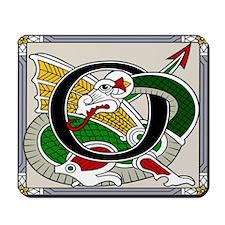 Celtic Dragon Art O Mousepad