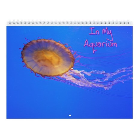 Helaine's Blue Fish Wall Calendar