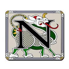 Celtic Dragon Art N Mousepad