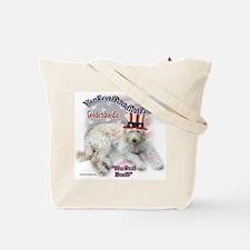 Yankee Goldendoodle Tote Bag