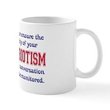 Quality of Patriotism Mug