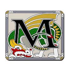 Celtic Dragon Art M Mousepad