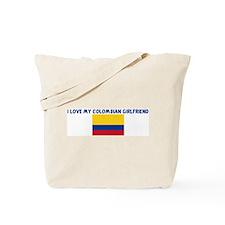 I LOVE MY COLOMBIAN GIRLFRIEN Tote Bag