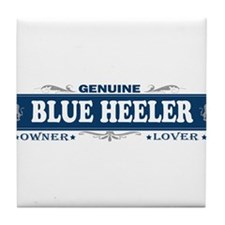 BLUE HEELER Tile Coaster