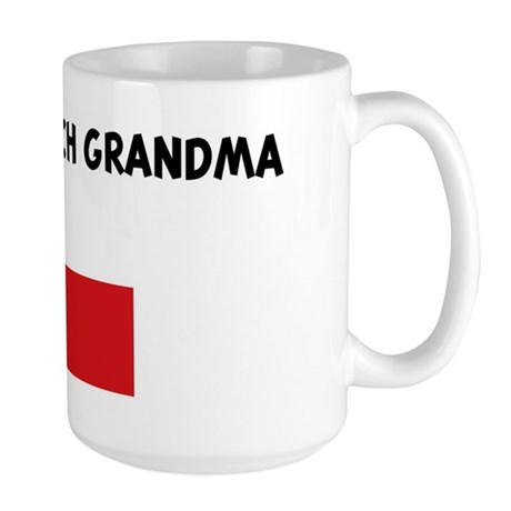 I LOVE MY CZECH GRANDMA Large Mug