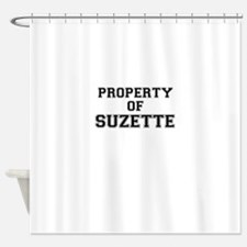 Property of SUZETTE Shower Curtain