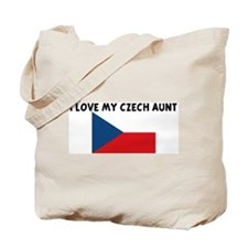 I LOVE MY CZECH AUNT Tote Bag