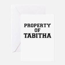 Property of TABITHA Greeting Cards