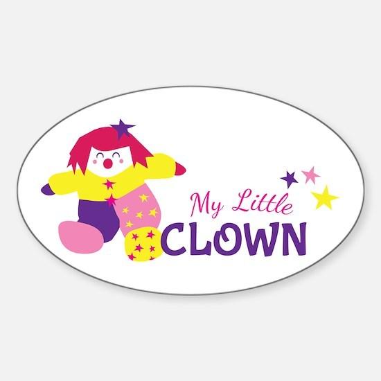 My Little Clown Decal