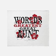 Great Aunt Throw Blanket