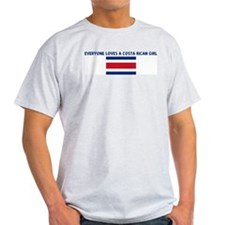 EVERYONE LOVES A COSTA RICAN  T-Shirt
