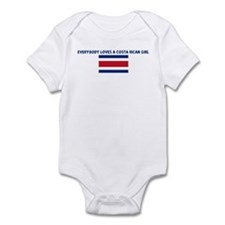 EVERYBODY LOVES A COSTA RICAN Infant Bodysuit