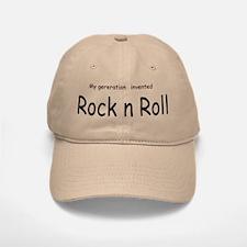 Rock n Roll Baseball Baseball Cap