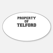 Property of TELFORD Decal