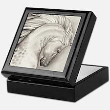 Platinum Arabian Keepsake Box