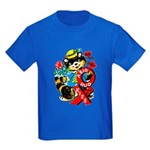 A Big Hug & Kiss Kids Dark T-Shirt