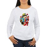A Big Hug & Kiss Women's Long Sleeve T-Shirt