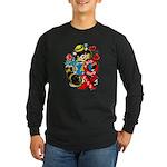 A Big Hug & Kiss Long Sleeve Dark T-Shirt