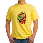 A Big Hug & Kiss Yellow T-Shirt