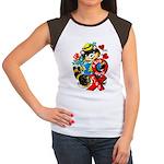 A Big Hug & Kiss Women's Cap Sleeve T-Shirt
