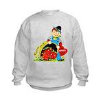 Apple of My Eye Kids Sweatshirt