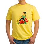 Apple of My Eye Yellow T-Shirt
