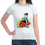 Apple of My Eye Jr. Ringer T-Shirt