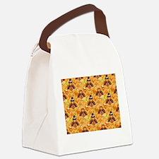 happy thanksgiving turkey Canvas Lunch Bag