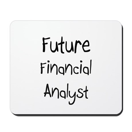 Future Financial Analyst Mousepad