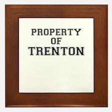 Property of TRENTON Framed Tile