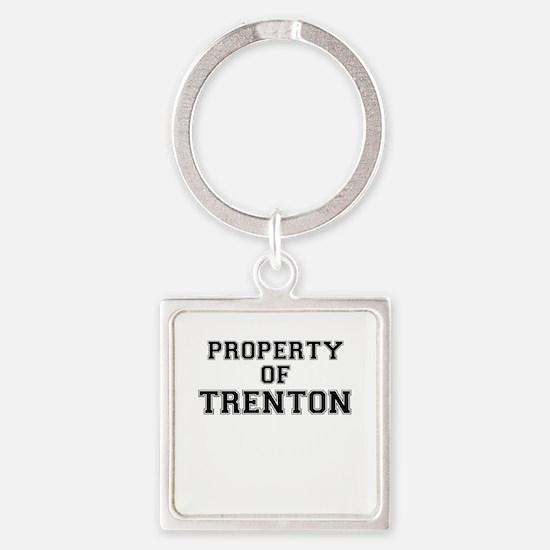 Property of TRENTON Keychains