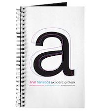 Arial Helvetica Akzidenz Journal