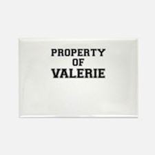 Property of VALERIE Magnets