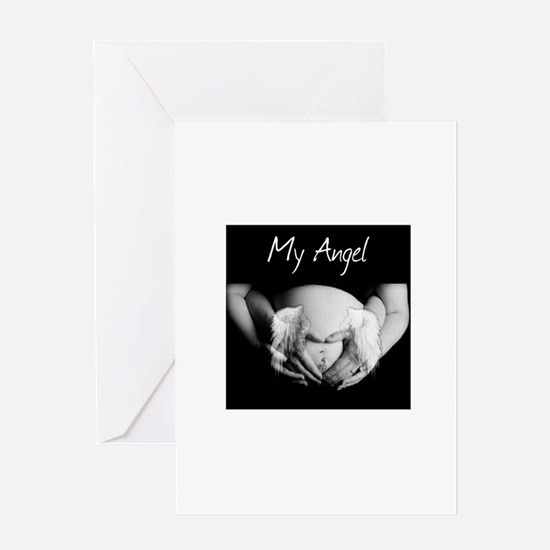 My angel Greeting Cards
