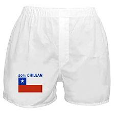 50 PERCENT CHILEAN Boxer Shorts