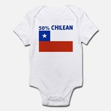 50 PERCENT CHILEAN Infant Bodysuit