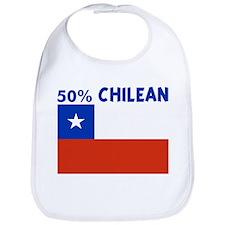 50 PERCENT CHILEAN Bib