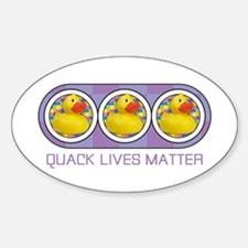 Quack Lives Matter Decal