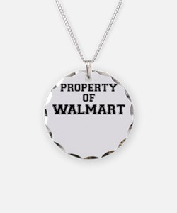 Property of WALMART Necklace