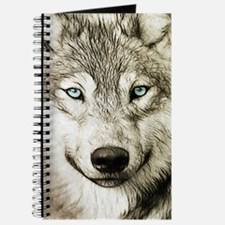 Unique Wolf christmas Journal