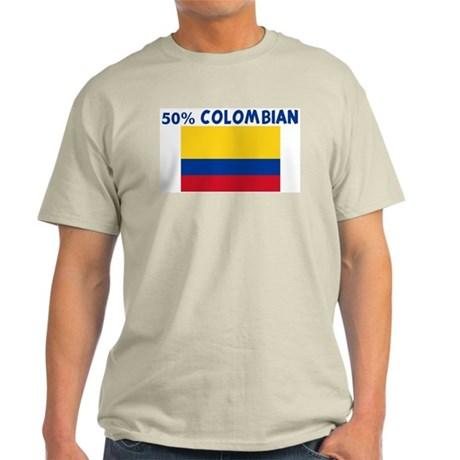 50 PERCENT COLOMBIAN Light T-Shirt