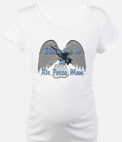 Blessed Air Force Mom Shirt